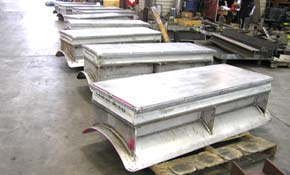 Pre-Insulated Cryogenic Supports with PTFE, 25% Glass Filled, Slide Plates