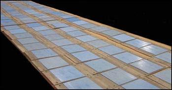 PTFE, 25% Glass Filled, Slide Plates