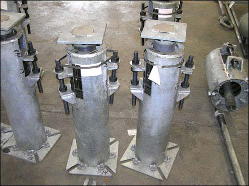 Stainless Steel Slide Plates Welded on Variable Springs