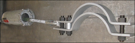 Variable Spring with a High Temperature 3-Bolt Clamp