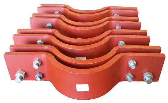 22 inch diameter riser clamps