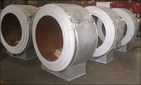 Insulated Pipe Supports Designed for Cryogenic Temperatures Down to -320°F in an LNG facility