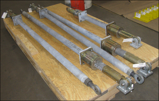 Mechanical Snubber Assemblies Custom Designed for an Oil Refinery in California