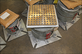 Variables Springs With Bronzphite Slide Plates
