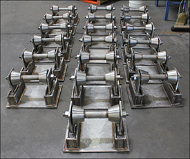 Stainless Steel Pipe Rollers