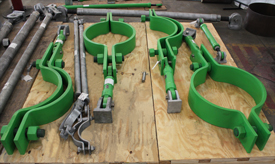 Custom Sway Strut Assembly for LNG Plant