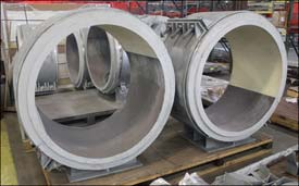 Cryogenic Insulated Pipe Supports Designed for a Petrochemical Complex in Louisiana