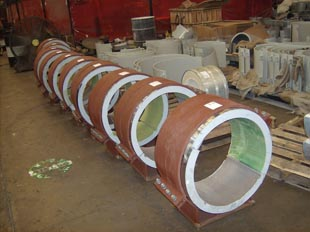 Heavy Duty Large Bore Supports
