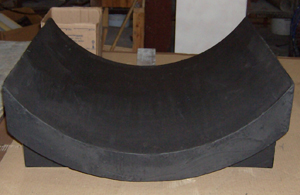 Polyurethane Pipe Saddles for FRP Pipe