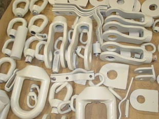 Various clevis supports