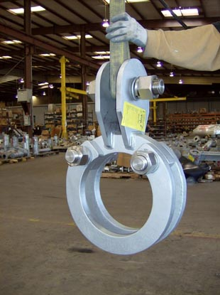 Custom Yoke Type Pipe Clamp