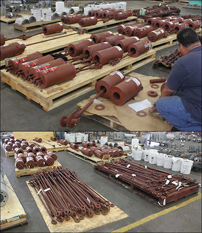 Custom Variable Spring Supports Designed for a Furnace Application in an Ammonia Plant