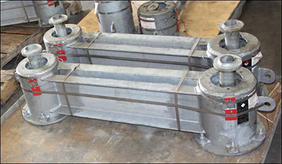 G-Type Variable Spring Assemblies Designed for an Oil & Gas Refinery in Texas