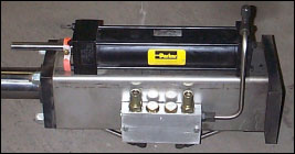 Picture of a Hydraulic Snubber