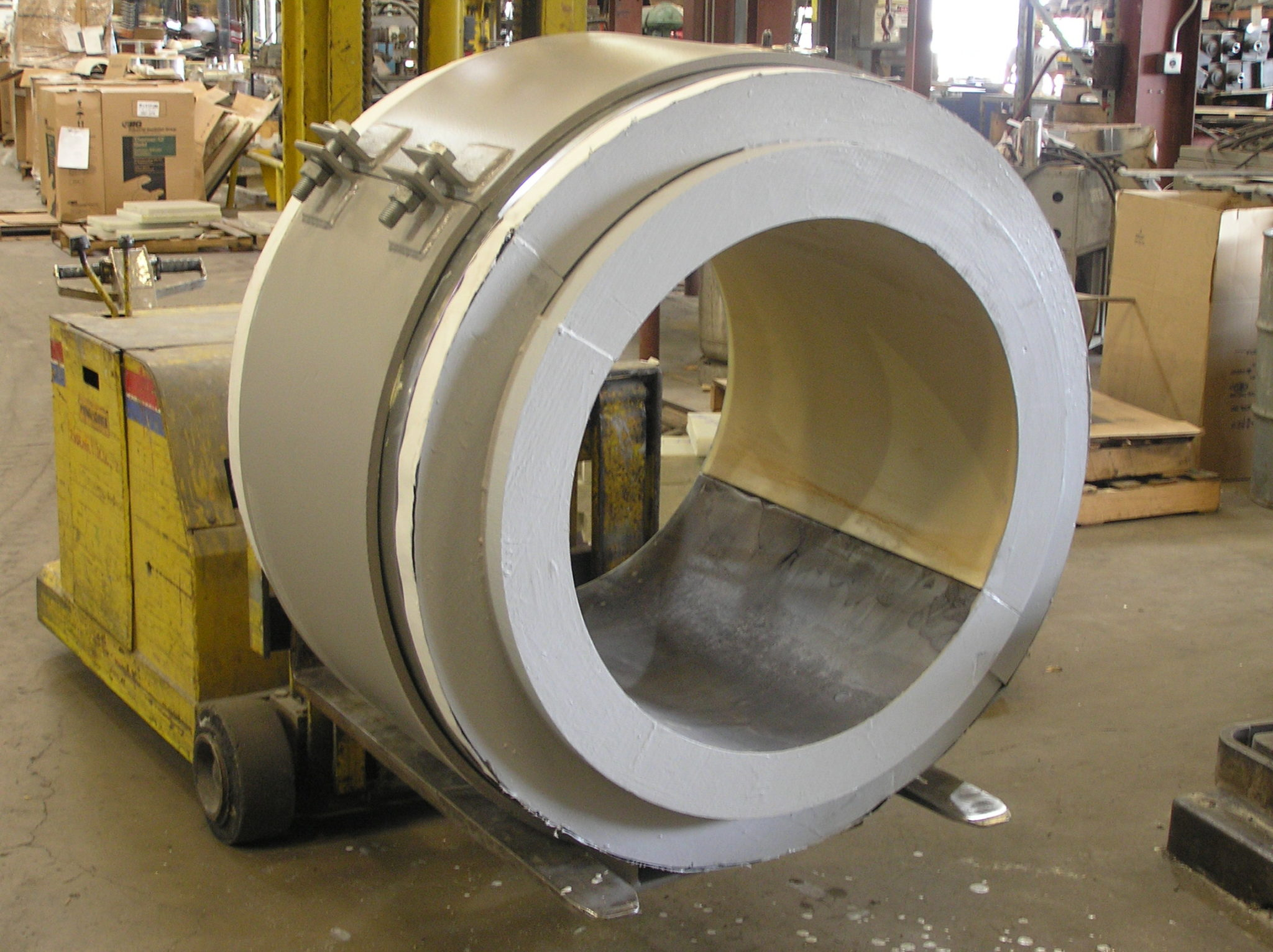 Cold Insulated Pipe Shoes for an LNG Plant