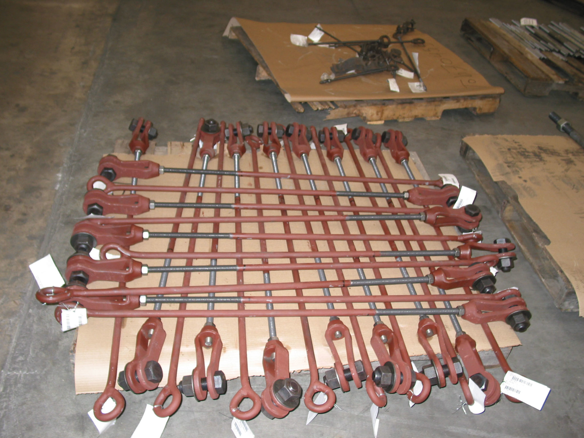 240 Welded Eye Rods for an Ammonia Plant
