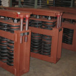 Big ton spring supports for a chemical processing plant 4560999747 o