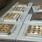 PT&P Bronzphite® Slide Plates for Pipe Supports
