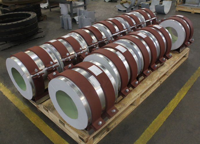 PT&P Cryogenic Pipe Supports with Polyurethane Insulation