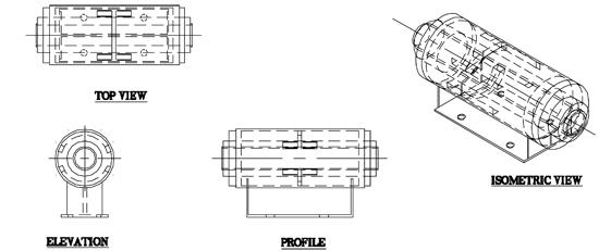CS-6080 Misc. Cold Shoe (LNG Line Anchor Module)