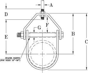 Fig. 83 Adjustable Clevis Hanger