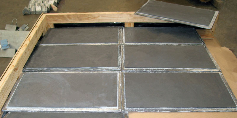 PT&P Graphite Slide Bearing Plates Ready For Shipment