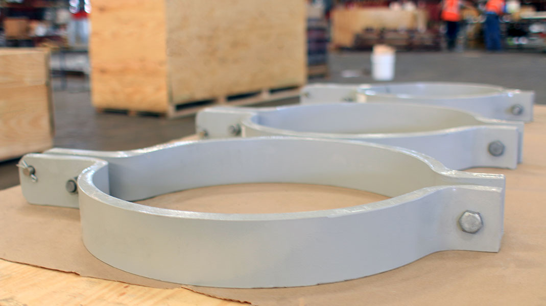 Pipe clamps risers products piping tech