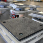 PT&P Graphite Slide Bearing Plates