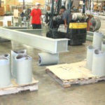 Stanchions and beams for a power center 4686015631 o