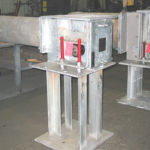 009 44,000 lb. load horizontal upthrust constant
