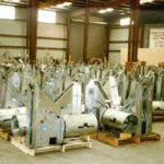 096 constants for a radiant tube support system