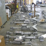 Hydraulic Snubber Assemblies for a LNG Processing Facility