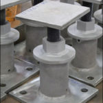 Adjustable Base Supports Designed to Support Trunnions in an Oil Refinery