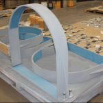 HD-2 and HD-3 Hold-down Pipe Clamps with PTFE Slide Plates