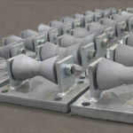 Roller Stands Designed for a 10″ Dia. Pipeline at a Refinery in Mississippi