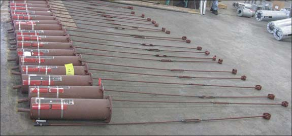 300 Furnace Springs for Methanol Facility