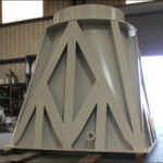42″ Dia. Transition Piece Designed for a Water Tower in Texas