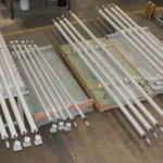 14 Foot Long Sway Struts Custom Designed for a Natural Gas Facility in Canada