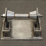 Custom Designed Stainless Steel Roller Stands for a Wastewater Treatment Plant