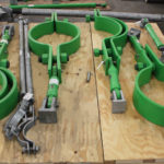 Custom Sway Strut and Pipe Clamp Assemblies for an LNG Plant in Australia