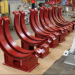 "42"" Dia. Chrome-Moly Pipe Clamps Designed for an Ammonia Plant"