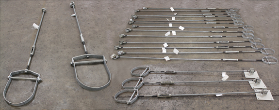 Over 400 Clevis Hanger Assemblies Designed for a Pulp and Paper Plant