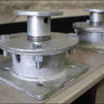 Compact Disc Spring Support Designed for a Heat Exchanger Application