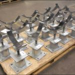 Adjustable Pipe Stands Designed for a Crude Oil Terminal in Texas