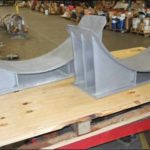 Heavy Duty Pipe Saddles Designed for an Ethane Cracker