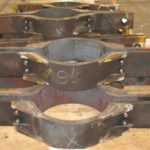 20,500 lb riser clamps for a power plant