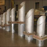 Insulated Trunnions for a LNG Plant