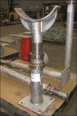 Adjustable Pipe Saddle Supports Designed for a Booster Pump Station Rehabilitation Project in Florida