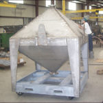 ASME Catalyst Storage Bins for a chemical company in Louisiana