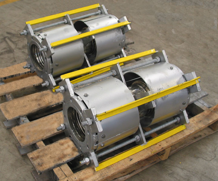6 diameter tied universal expansion joints for a steam reformer project in Virginia